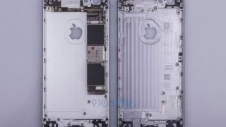 iPhone6sのボディとロジックボードの写真!画像ギャラリーを公開します。