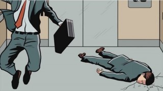 ジャンプは意味なし!エレベーターが急落下した時に助かるたった一つの方法