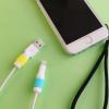 iPhone用Lightningケーブルの保護には100均の「Lightningケーブル保護カバー」が便利