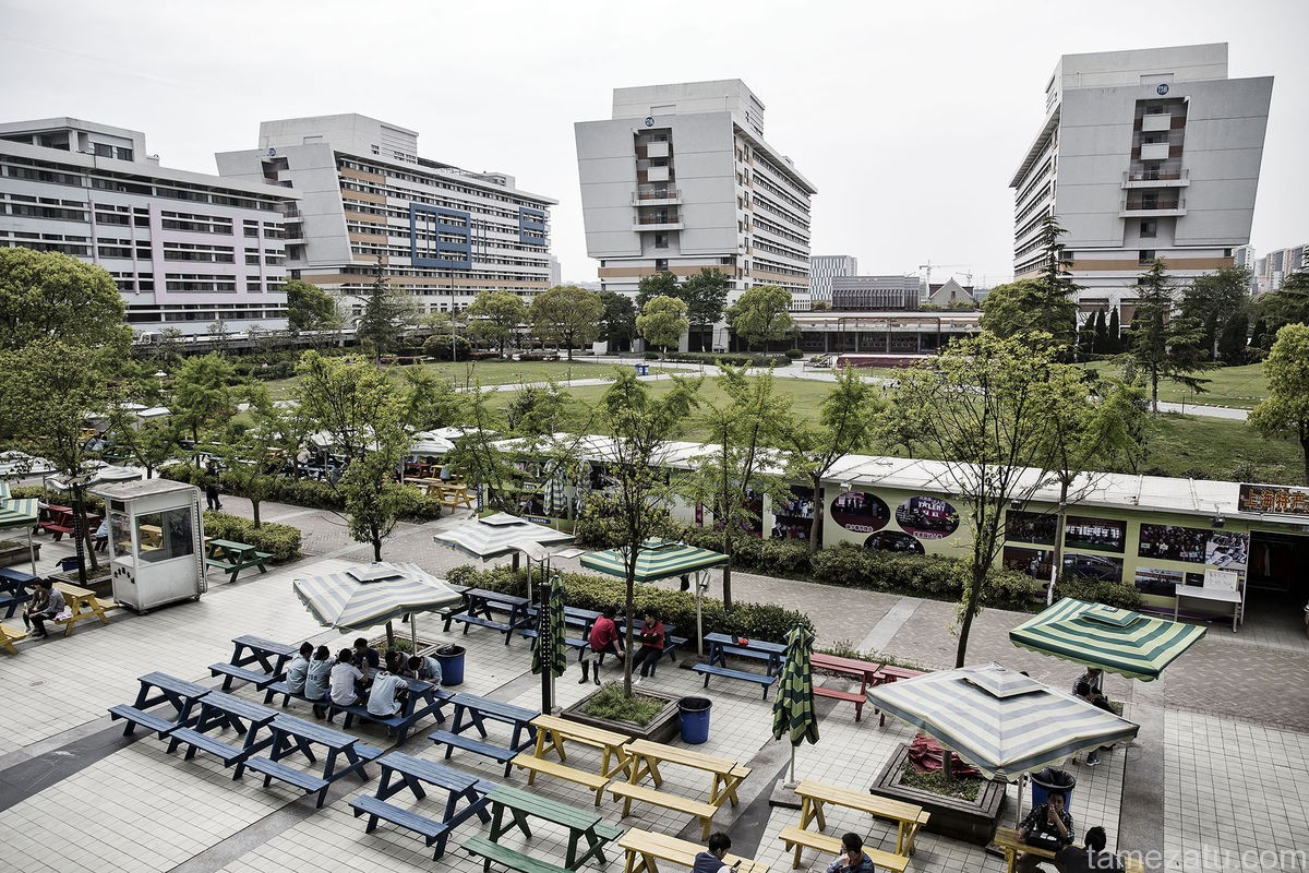 A view of a Pegatron campus. Photographer: Qilai Shen/Bloomberg