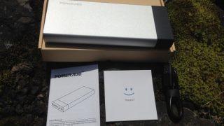 【レビュー】Poweradd Pilot 5GS モバイルバッテリー 20000mAh